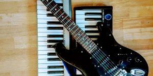 Musikinstrumente bringen wir mit